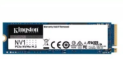 Kingston 1TB NV1 NVMe Okuma 2100MB-Yazma 1700MB M.2 SSD (SNVS/1000G)