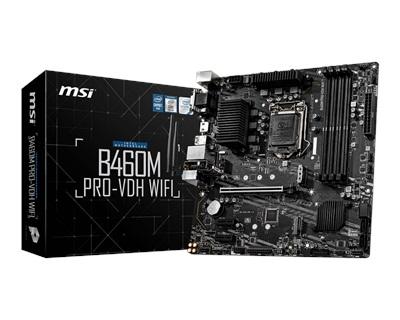 En ucuz MSI B460M PRO-VDH 2933mhz(OC) M.2 Wi-Fi 1200p mATX Anakart Fiyatı