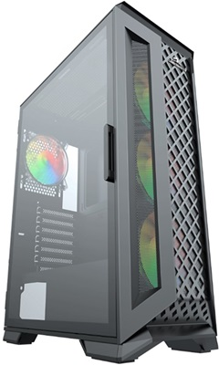 GameBooster GB-G5180B 600W 80+ Tempered Glass RGB USB 3.0 E-ATX Mid Tower Kasa