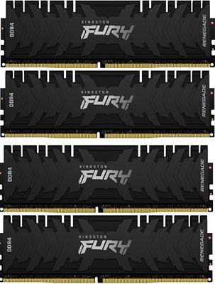 Kingston 64GB(4x16) Fury Renegade 3600mhz CL16 DDR4  Ram (KF436C16RB1K4/64)