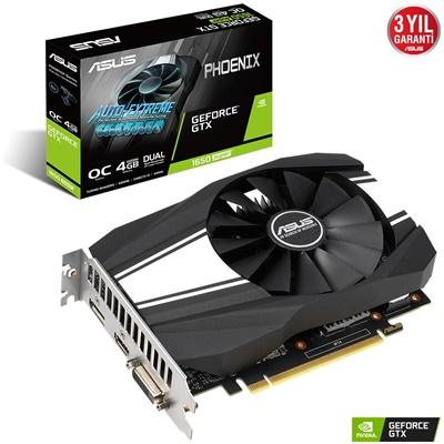 En ucuz Asus GeForce GTX1650 Super Phoenix O4G 4GB GDDR6 128 Bit Ekran Kartı Fiyatı