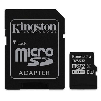 Kingston 32GB MicroSDHC UHS-I Class 10 (SDC10G2/32GB)