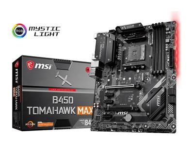 En ucuz MSI B450 Tomahawk MAX 4133mhz(OC) RGB M.2 AM4 ATX Anakart Fiyatı