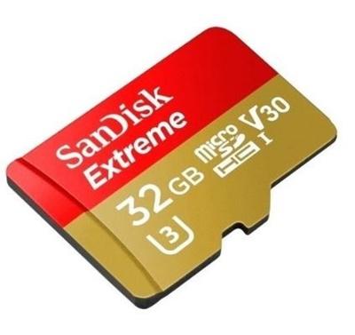 En ucuz Sandisk 32GB MicroSDHC Extreme Class 10 95MB/s (SDSDQXAF-032G-G6A) Fiyatı