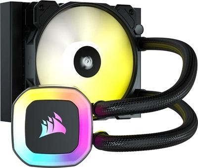 Corsair H55 RGB 120 mm Intel-AMD Uyumlu Sıvı Soğutucu