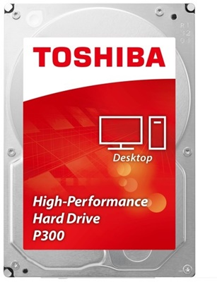 Toshiba 3TB P300 64MB 7200rpm (HDWD130UZSVA) Harddisk