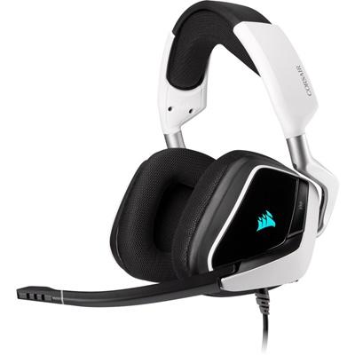 En ucuz Corsair Void Elite RGB 7.1 Surround Beyaz Gaming Kulaklık  Fiyatı