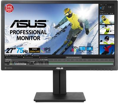 """En ucuz Asus 27"""" PB278QV 5ms 75hz HDMI,DisplayPort,D-Sub Monitör Fiyatı"""