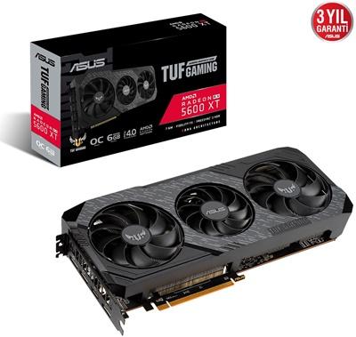 Asus Radeon RX 5600 XT TUF3 O6G Evo Gaming 6GB GDDR6 192 Bit Ekran Kartı