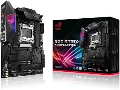En ucuz Asus Rog Strix X299-E Gaming II 4266mhz(OC) RGB M.2 Wi-Fi 2066p ATX Anakart Fiyatı