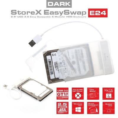"""En ucuz Dark Storex E24 2.5"""" USB 3.0 Disk Kutusu  Fiyatı"""