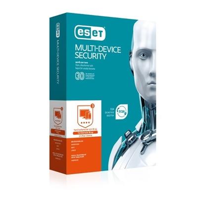 Eset Multi Device Security 3 Kullanıcı 1 Yıl Lisanslı Antivirüs