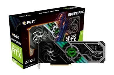 Palit GeForce RTX 3090 GamingPro 24GB GDDR6X 384 Bit Ekran Kartı