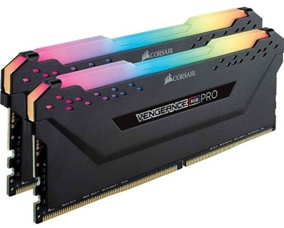 En ucuz Corsair 16GB(2x8) Vengeance RGB Pro Siyah 2666mhz CL16 DDR4  Ram (CMW16GX4M2A2666C16) Fiyatı