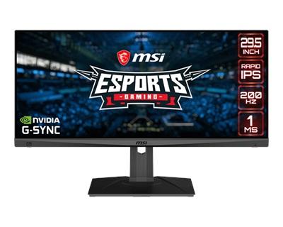 """MSI 29.5"""" Optix MAG301RF 1ms 200hz HDMI,DisplayPort G-Sync Gaming Monitör"""