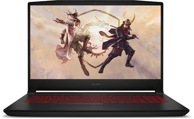 MSI KATANA GF66 11UC-208TR i7-11800H 16GB 512GB SSD 4GB RTX3050 15.6 Windows 10 Gaming Laptop