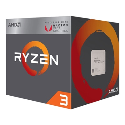 AMD Ryzen 3 2200G 3.50 Ghz 4 Çekirdek 6MB AM4 14nm İşlemci