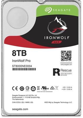 Seagate 8TB Ironwolf Pro 256MB 7200rpm (ST8000NE0004) NAS Diski