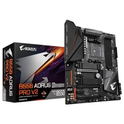 Gigabyte B550 Aorus Pro V2 5400mhz(OC) RGB M.2 AM4 ATX Anakart