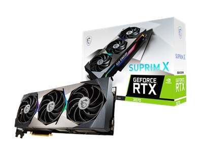 MSI GeForce RTX 3070 SUPRIM X 8G LHR 8GB GDDR6 256 Bit Ekran Kartı