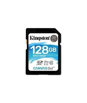 Kingston 128GB SDXC Canvas Go! 90MB/s UHS-I U3 Class 10 Hafıza Kartı (SDG/128GB)