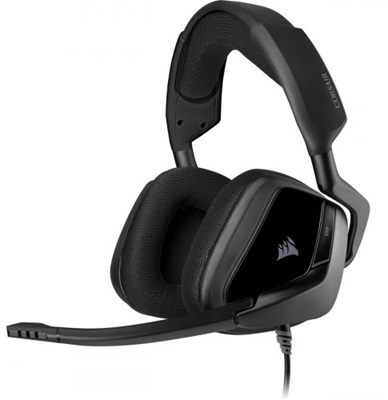 En ucuz Corsair Void Elite Surround 7.1 Premium Carbon Gaming Kulaklık   Fiyatı