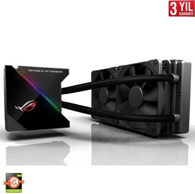 En ucuz Asus ROG Ryujin RGB 240 mm Intel-AMD Uyumlu Sıvı Soğutucu  Fiyatı