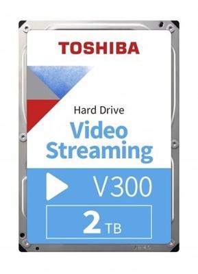Toshiba 2TB V300 64MB 5700rpm (HDWU120UZSVA) Harddisk