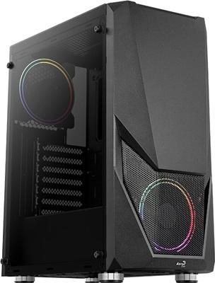 Aerocool Zauron Tempered Glass RGB USB 3.0 ATX Mid Tower Kasa