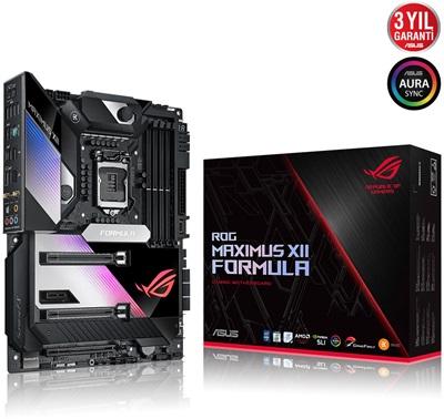 En ucuz Asus Rog Z490 Maximus XII Formula 4800mhz(OC) RGB M.2 Wi-Fi 1200p ATX Anakart Fiyatı