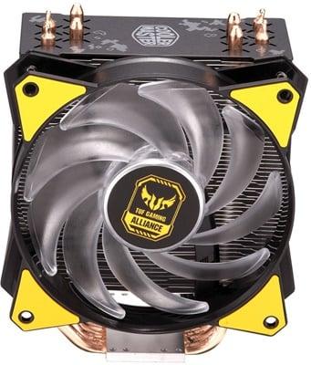En ucuz CoolerMaster MasterAir MA410P RGB Tuf Edition 120mm Intel-AMD Uyumlu Hava Soğutucu  Fiyatı