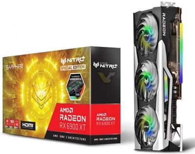 Sapphire Radeon RX 6900 XT Nitro+ Special Edition Gaming OC 16GB GDDR6 256 Bit Ekran Kartı