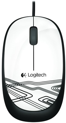Logitech M105 Beyaz  USB Mouse (910-002944)