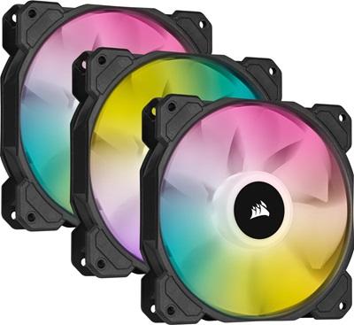 Corsair iCUE SP120 RGB Elite 120 mm Fan(3'lü Set)