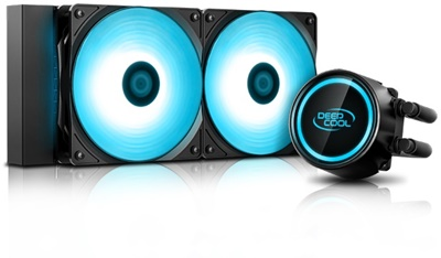 Deep Cool Gammaxx L240T Blue 240mm Intel-AMD Uyumlu Sıvı Soğutucu