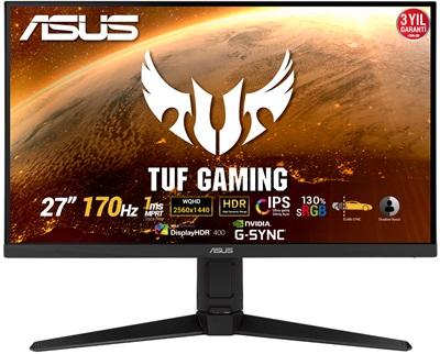 "En ucuz Asus 27"" TUF Gaming VG27AQL1A 1ms 170hz HDMI,DisplayPort FreeSync,G-Sync Gaming Monitör Fiyatı"
