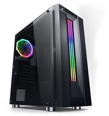 GameBooster G3601B RGB Strip USB 3.0 ATX Mid Tower Kasa