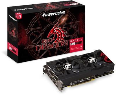 En ucuz PowerColor Red Dragon Radeon RX570 4GB GDDR5 256 Bit Ekran Kartı Fiyatı