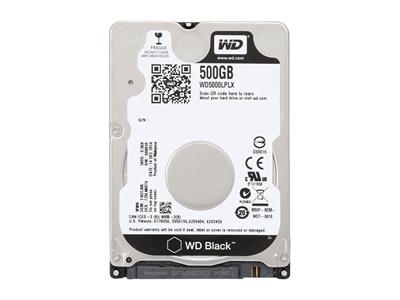 WD 500GB Black 32MB 7200rpm (WD5000LPLX) Notebook Disk