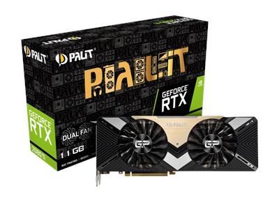 Palit GeForce RTX 2080 Ti Dual 11GB GDDR6 352 Bit Ekran Kartı