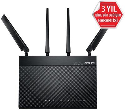 En ucuz Asus 4G-AC68U 450Mbps 4 Port ADSL Modem Router  Fiyatı