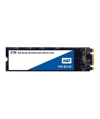 WD 2TB Blue 3D NAND Okuma 560MB-Yazma 530MB M.2 SSD (WDS200T2B0B)