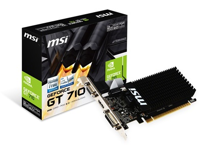 MSI GeForce GT 710 2GD3H LP 2GB DDR3 64 Bit Ekran Kartı