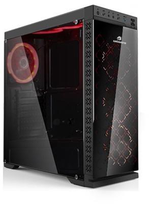 GameBooster GB-G08B 600W 80+ 4xRGB Fan USB 3.0 ATX Mid Tower Kasa