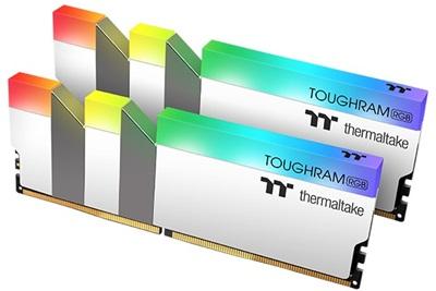 Thermaltake 16GB(2x8) Toughram White RGB 4600mhz CL19 DDR4  Ram (R022D408GX2-4600C19A)