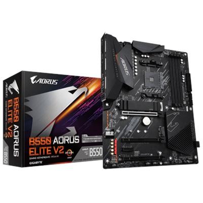 Gigabyte B550 Aorus Elite V2 4400mhz(OC) RGB M.2 AM4 ATX Anakart