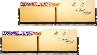 G.Skill 32GB(2x16) Trident Z Royal 3600mhz CL14 DDR4  Ram (F4-3600C14D-32GTRGA)