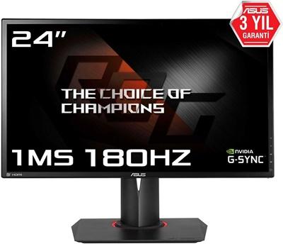 """En ucuz Asus 24"""" PG248Q 1ms 180hz HDMI,DPPort G-Sync Gaming Monitör Fiyatı"""