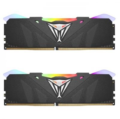 Patriot 32GB(2x16) Viper RGB 3200mhz CL16 DDR4  Ram (PVR432G320C6K)