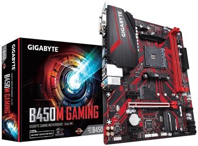 En ucuz Gigabyte B450M Gaming 3600mhz(OC) RGB M.2 AM4 mATX Anakart Fiyatı